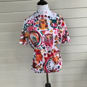 Paladin Women's Short Sleeve Cycling Jersey Owls